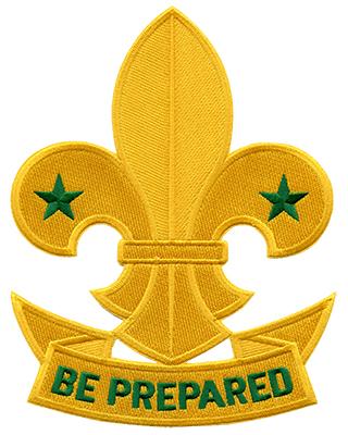 320x400 Boy Scout Motto Be Prepared!