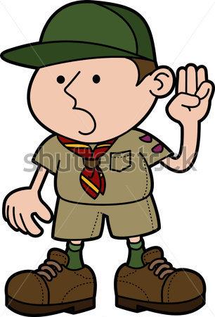 306x450 Clip Art Boy Scout Emblem Clipart