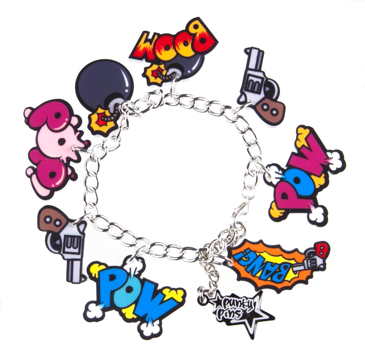 1261x1236 Charm Bracelet Clip Art