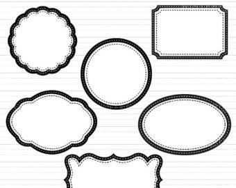 340x270 Decorative Shape Cliparts