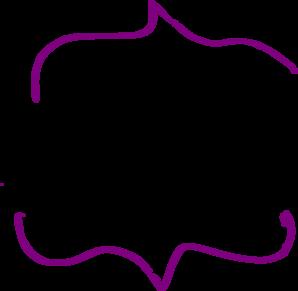 298x291 Purple Brackets Clip Art