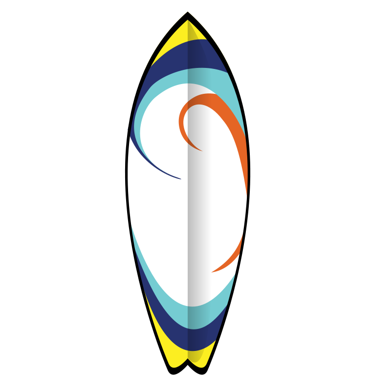 800x800 Surfboard Clip Art Illustrations Free Clipart Images