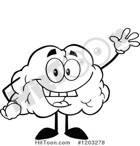 450x470 Brain Clipart