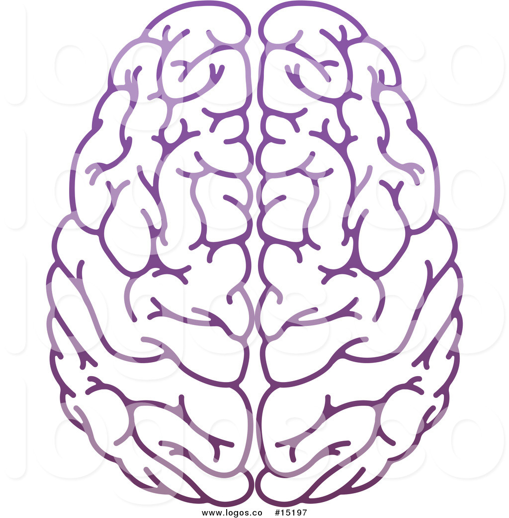 1024x1044 Royalty Free Vector Logo Of A Human's Brain