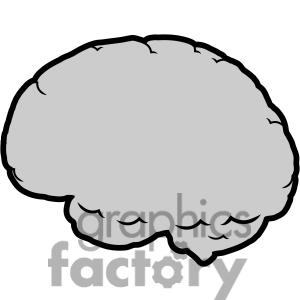 300x300 Brain Clip Art Black And White Clipart Panda