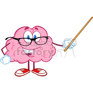 300x300 Learning Brain Clipart