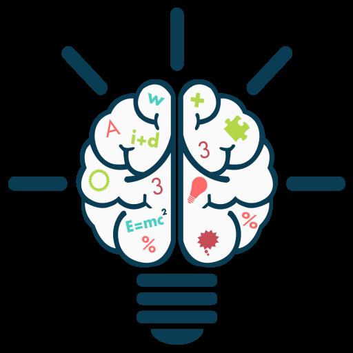 512x512 Brain Clipart Math Brain