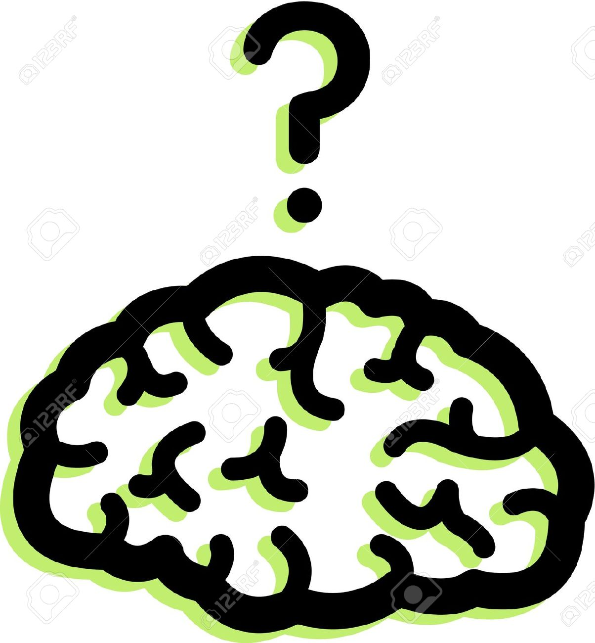 1204x1300 Brains Clipart Brain Thinking