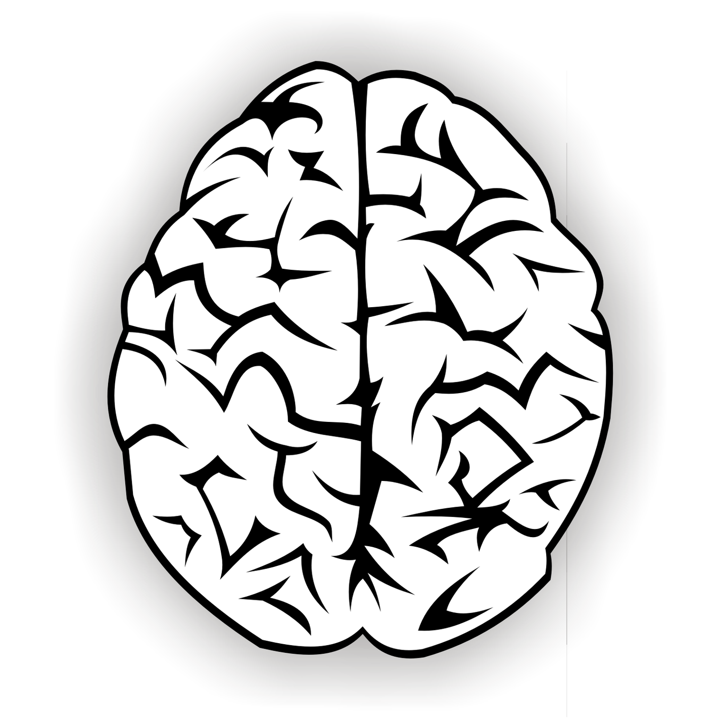1425x1425 Drawing Of Brain Clipart Free To Use Clip Art Resource