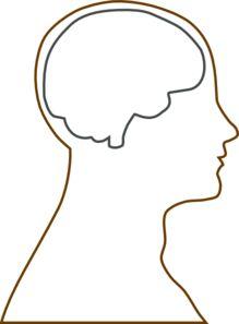 219x297 Of Brain Clipart