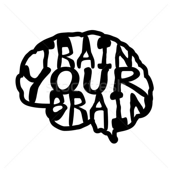 600x600 Brain Clipart Hand Drawn