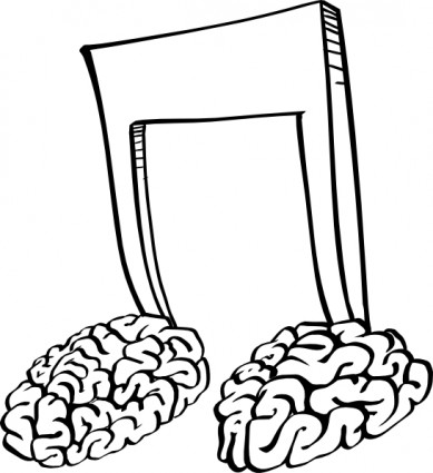 389x425 Brain Notes Clip Art Free Vector In Open Office Drawing Svg Svg