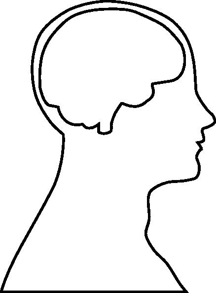 438x594 Brain Blank Clip Art