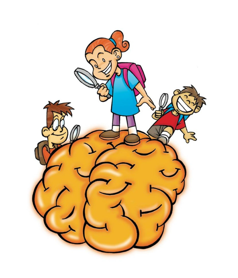 830x969 Clipart Of Brain Thinking