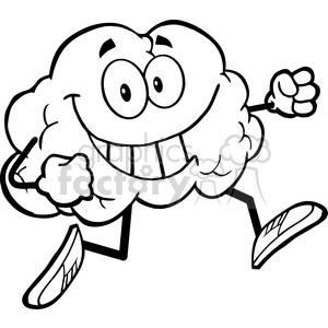 300x300 Royalty Free 5982 Royalty Free Clip Art Healthy Brain Cartoon