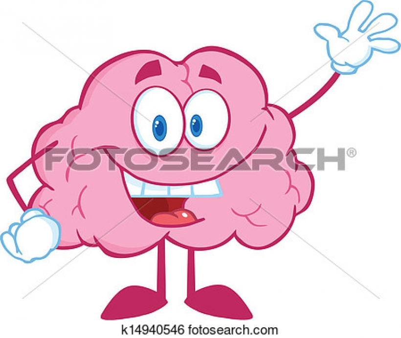 820x692 Clipart Brain Free Use