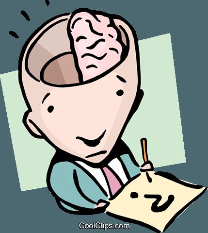 429x480 Half A Brain Royalty Free Vector Clip Art Illustration Cart0909