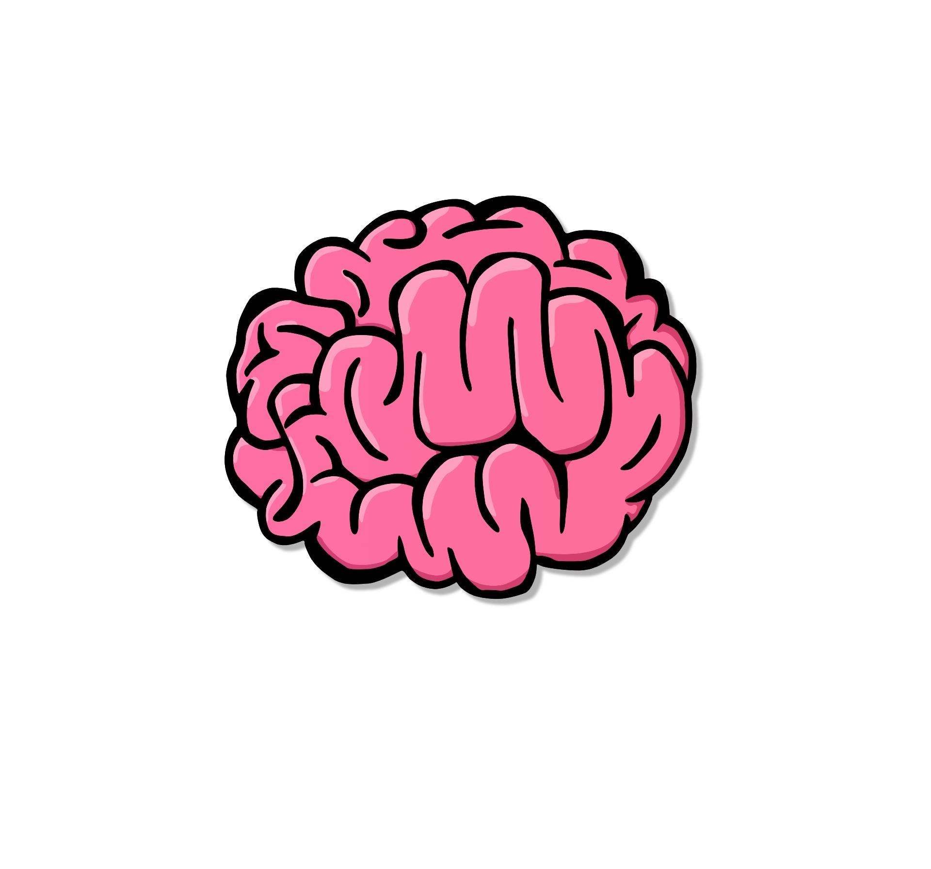 1920x1792 Brain Clipart Cartoon