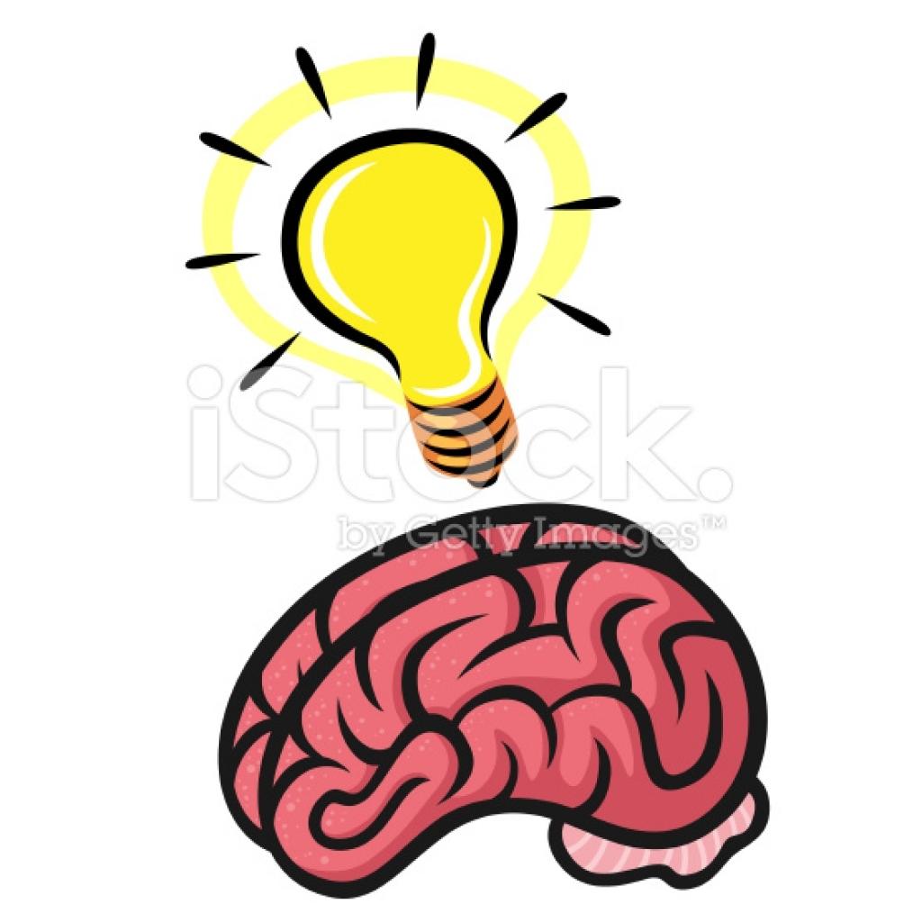 1024x1024 Brain Clipart Lightbulb