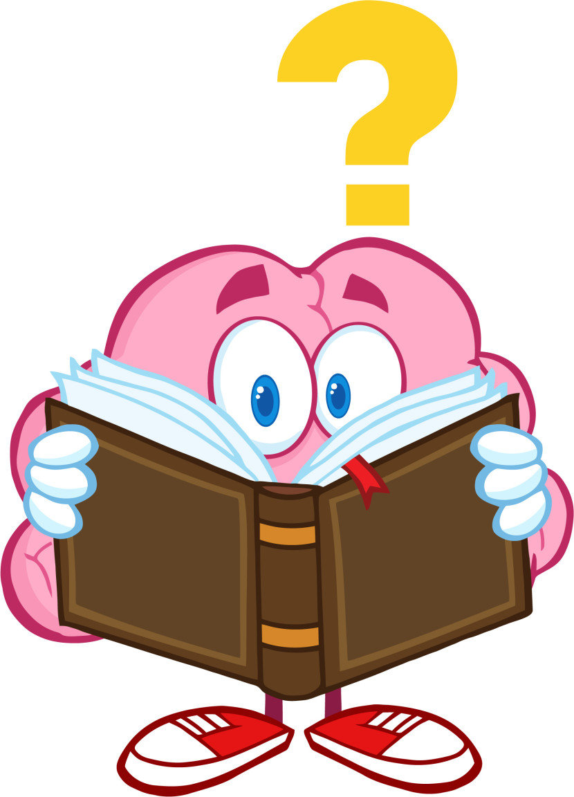 830x1152 Learning Brain Clipart