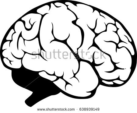 450x371 Brain Outline Clipart Black And White Forward