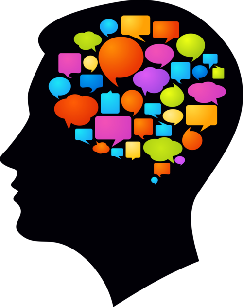 500x630 Learning Brain Clipart
