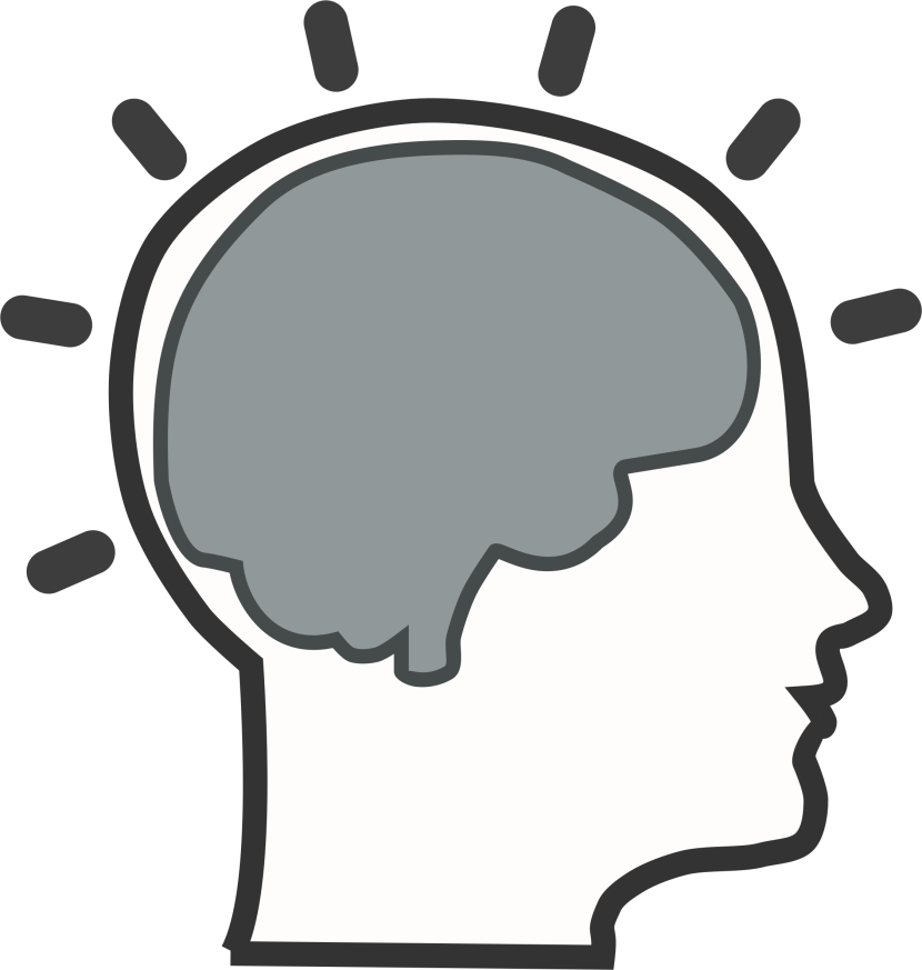 830x873 Learning Brain Clipart