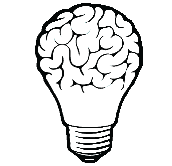 666x644 Brain Bulb