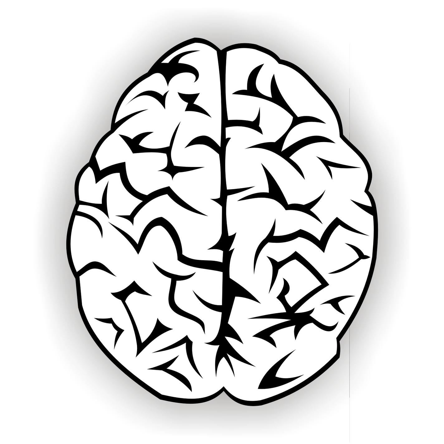 1425x1425 Brain Clipart Art Png