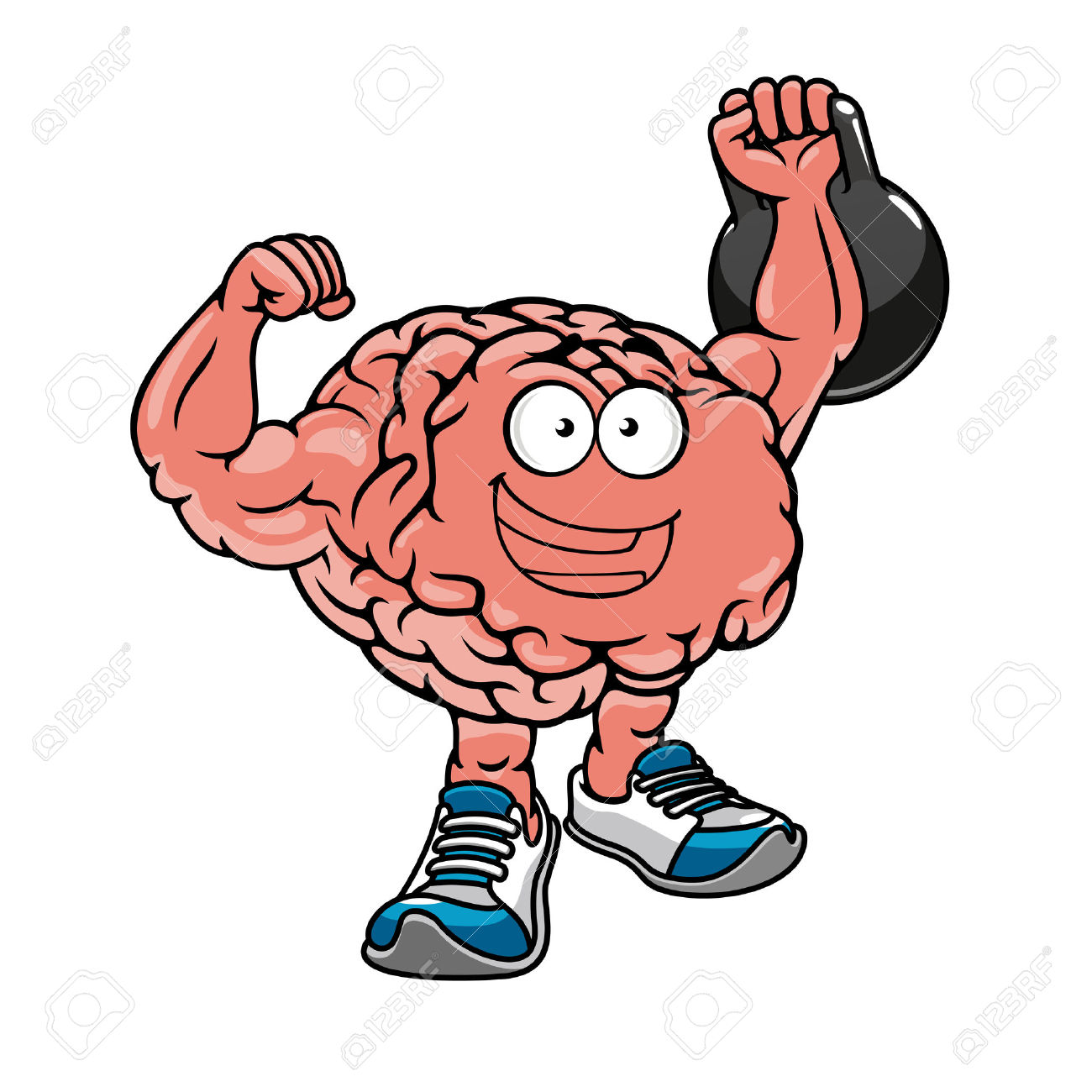 1300x1300 Brain Lifting Weights Clipart Amp Brain Lifting Weights Clip Art