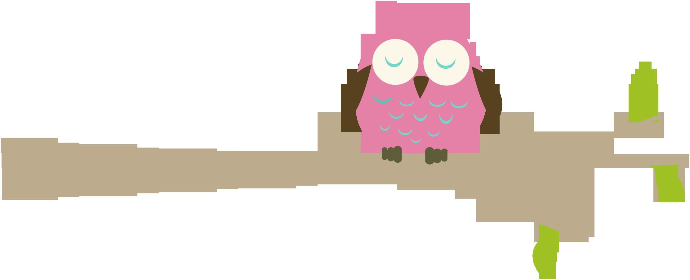 2225x905 Owl Clipart Branch Clip Art