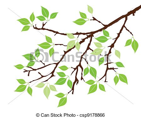 450x378 Branch Clipart Leaf Branch