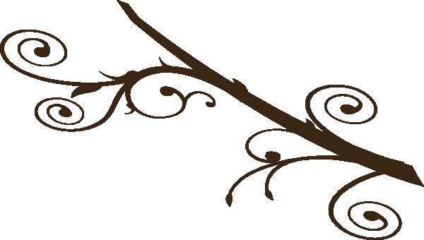 600x340 Dark Brown Branch Clip Art