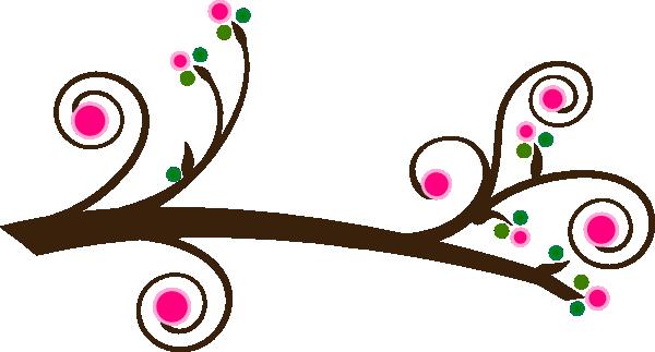 600x323 Simple Branch Clip Art
