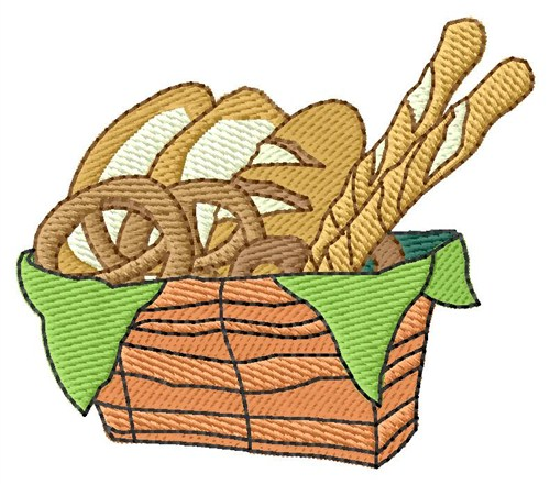 500x440 Bread Basket Embroidery Designs, Machine Embroidery Designs