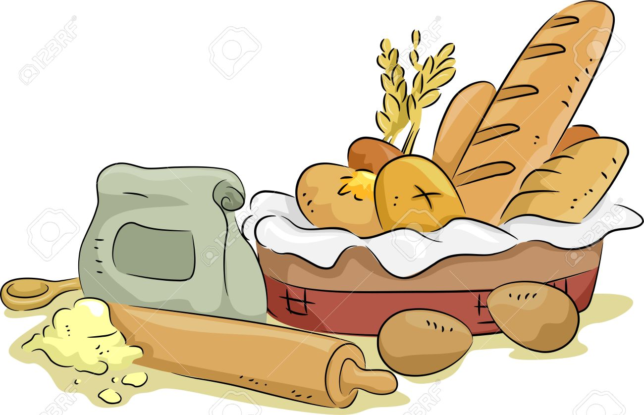 1300x838 Basket Clipart Wheat