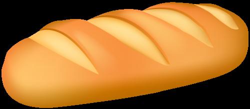 500x218 Loaf Bread Png Clip Art