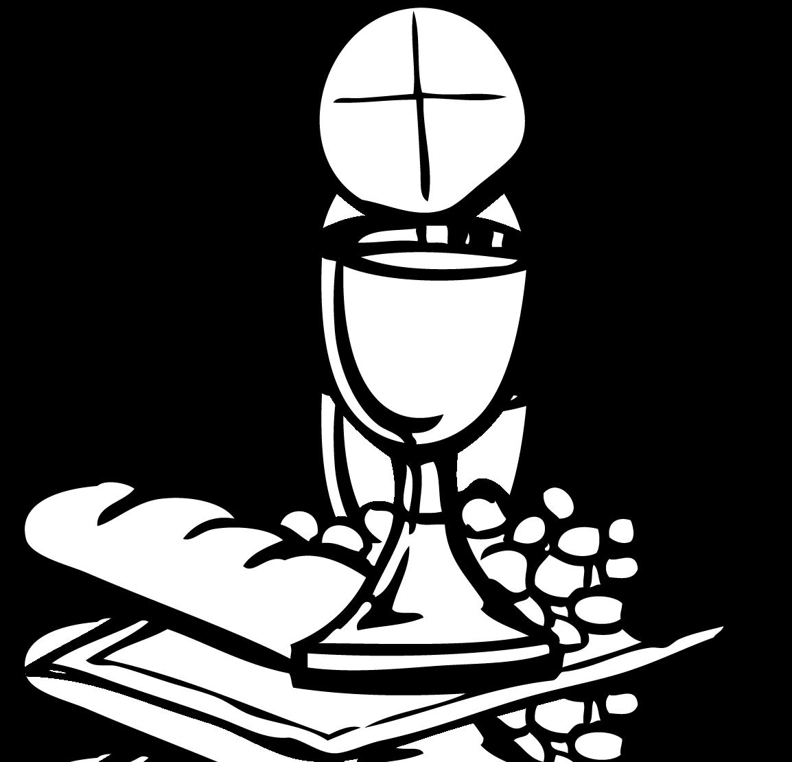 1154x1110 Communion Bread And Wine Clipart