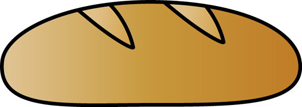 600x213 Rolls Clipart Loaf Bread