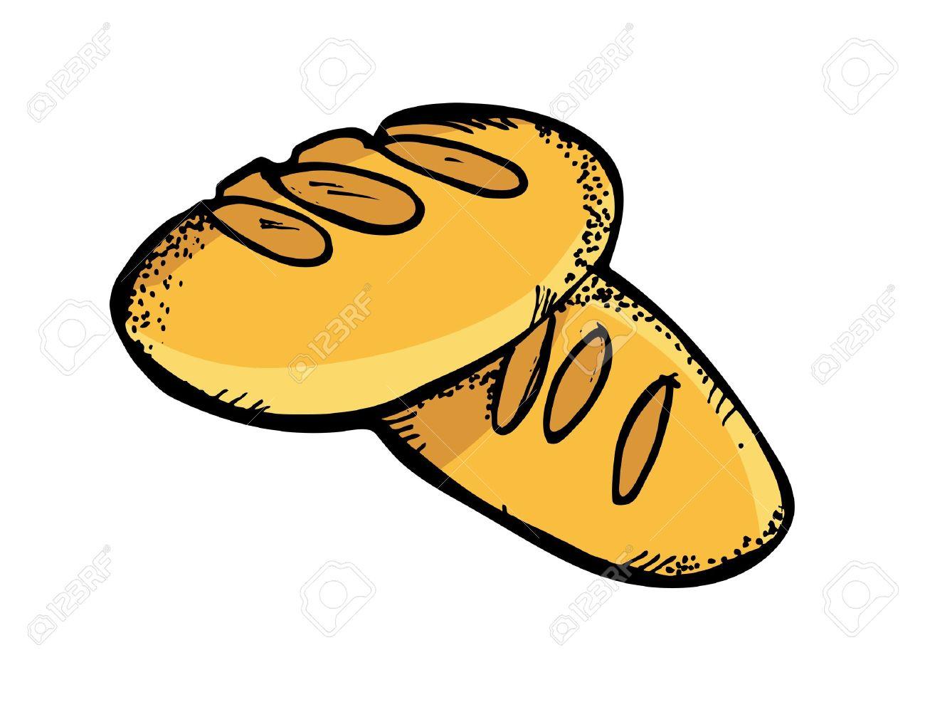 1300x993 Bread Clip Art