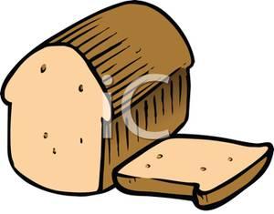 300x235 Art Image A Sliced Loaf Of Bread