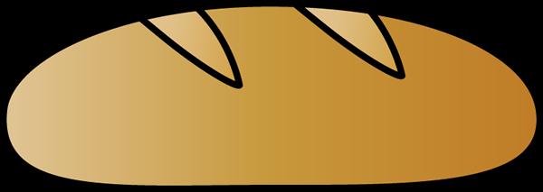 600x213 Italian Bread Clip Art
