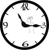 167x170 Quitting Time Clip Art