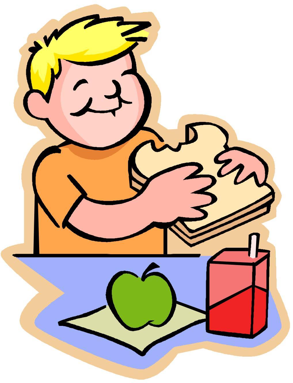 1018x1328 School Lunch Clip Art
