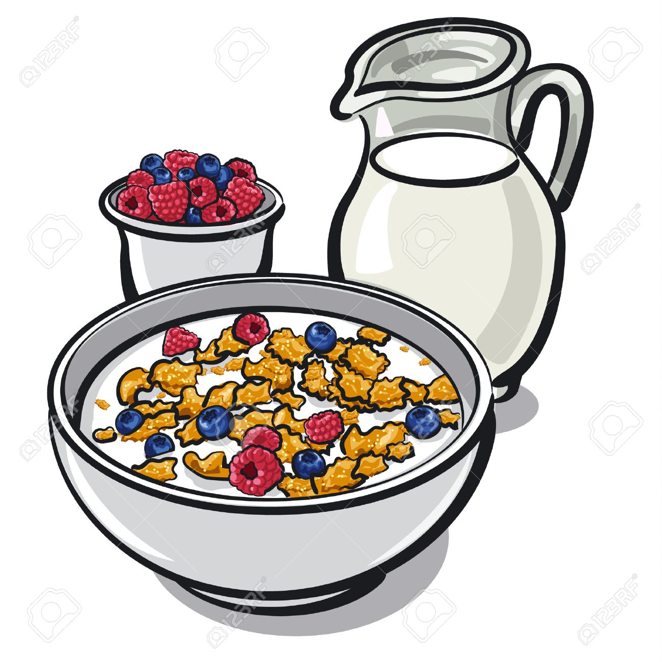 1300x1300 887 Oatmeal Breakfast Cliparts, Stock Vector And Royalty Free