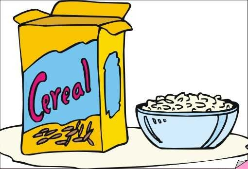 510x348 Clipart Cereal Images