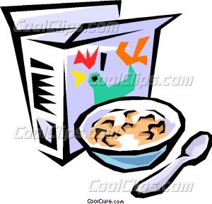 300x288 Breakfast Cereal Vector Clip Art