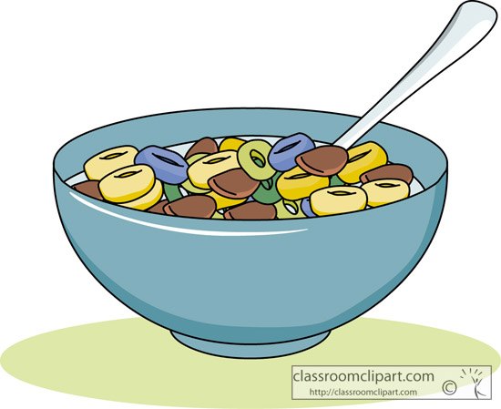 550x449 Breakfast Cereal Clipart