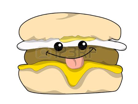 Breakfast Sandwich Clipart