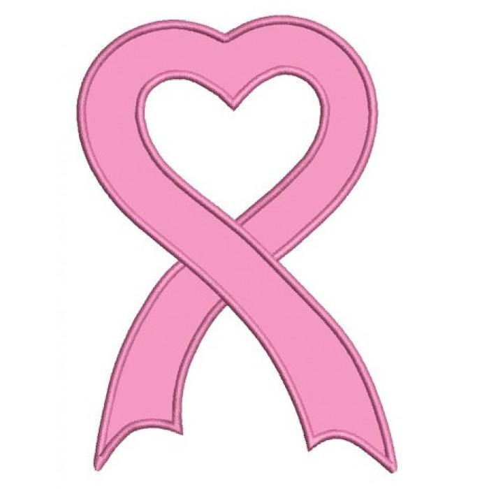 700x700 Cancer Awareness Ribbon Machine Embroidery Digitized Design